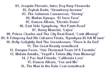 Mixtape Damon Albarn