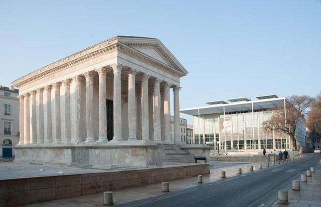 Maison Carrée et Carré d'Art Nîmes (30)