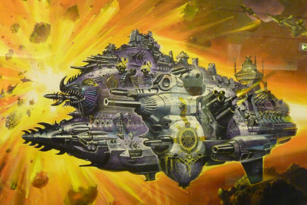 Games Workshop Spaceship, Chris Foss