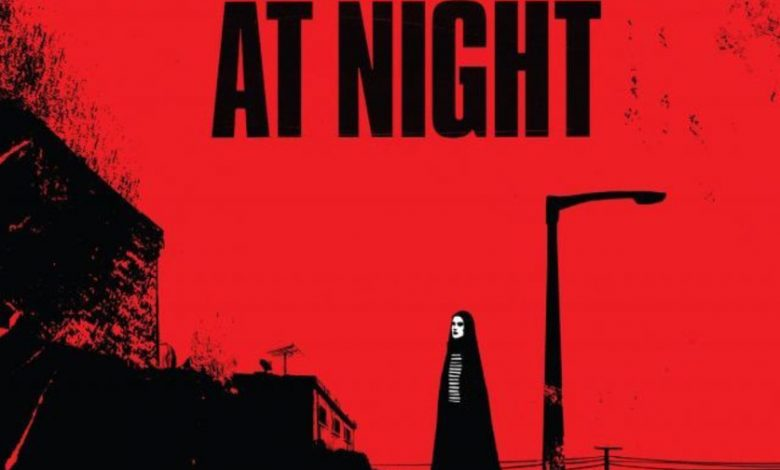 Photo of A Girl Walks Home Alone At Night – Une errance nocturne.