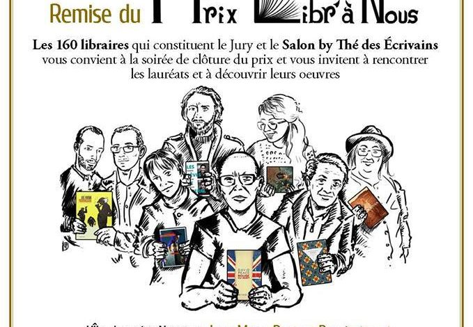 Photo of Des Prix et des Livres «Libr'à Nous» demain soir …