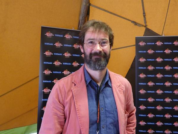 James Oswald au festival de Harrogate, 2015