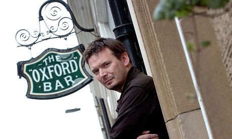 L'enseigne de l'Oxford Bar, repère de John Rebus et de Ian Rankin