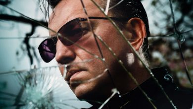 Photo of Richard Hawley du Soleil sur Sheffield