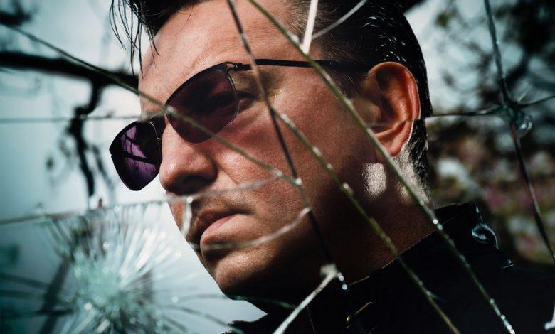 Photo of Richard Hawley du Soleil sur Sheffield