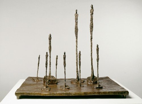 La clairière, Alberto Giacometti, 1950.