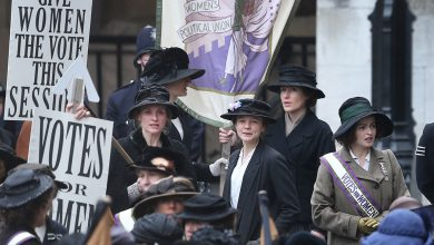 Photo de Emotion palpable pour Les Suffragettes