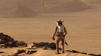 Photo de Seul sur Mars de Ridley Scott : La pomme de terre vue du ciel