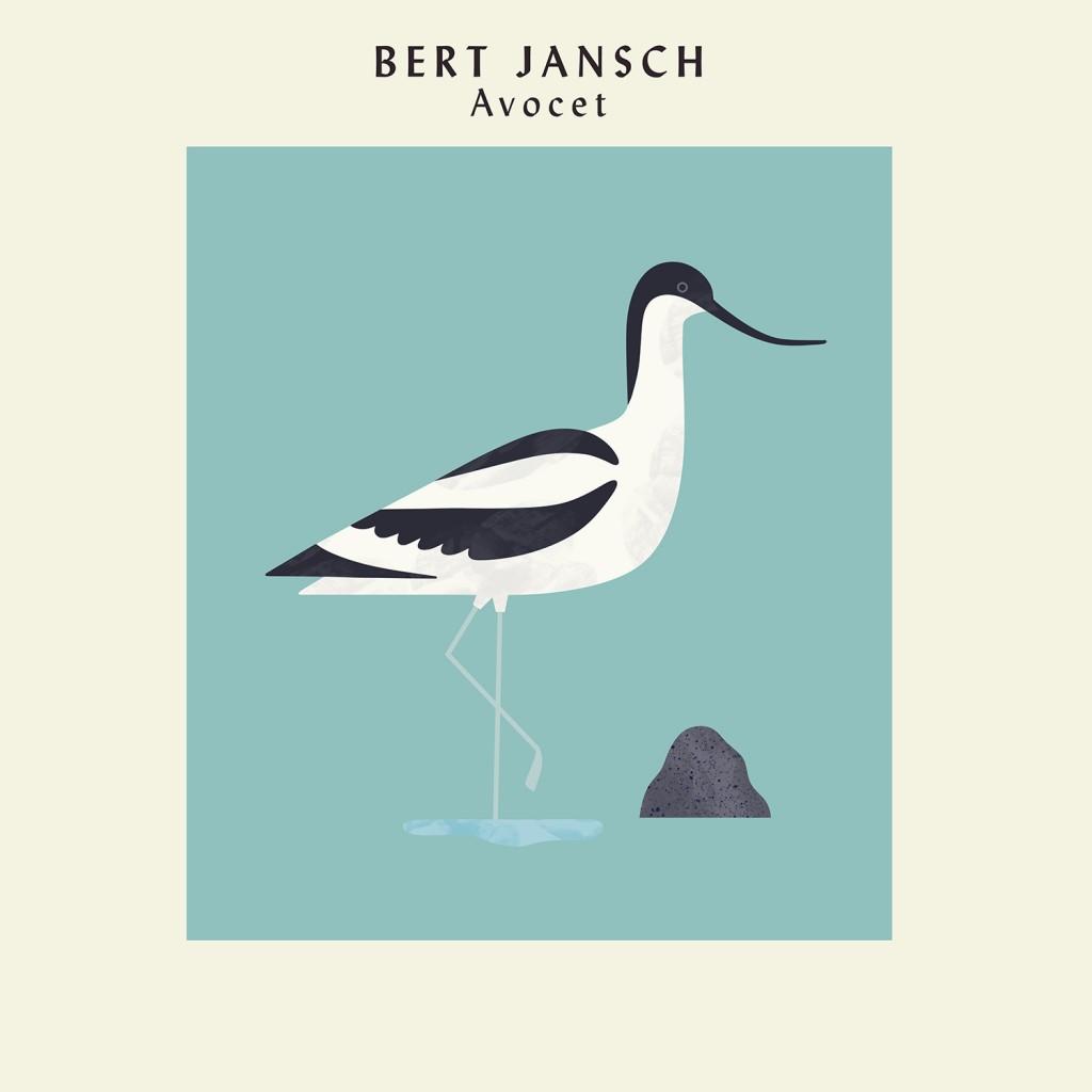 EARTHLP010 Bert Jansch - Avocet GATEFOLD OUTER SLEEVE