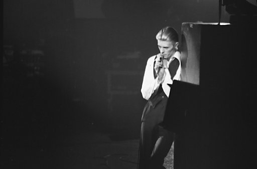 "David Bowie 1976, époque ""Station to Station"""
