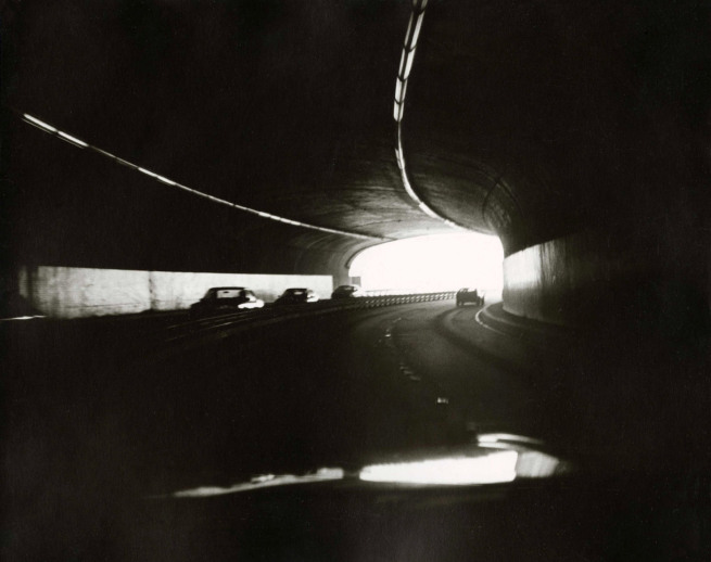 "Andy Warhol, ""Tunnel"" (c.1980)."