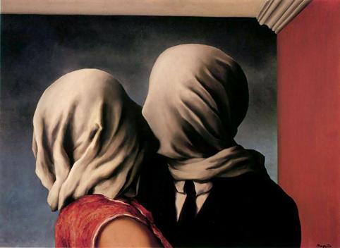 Les Amants, de René Magritte