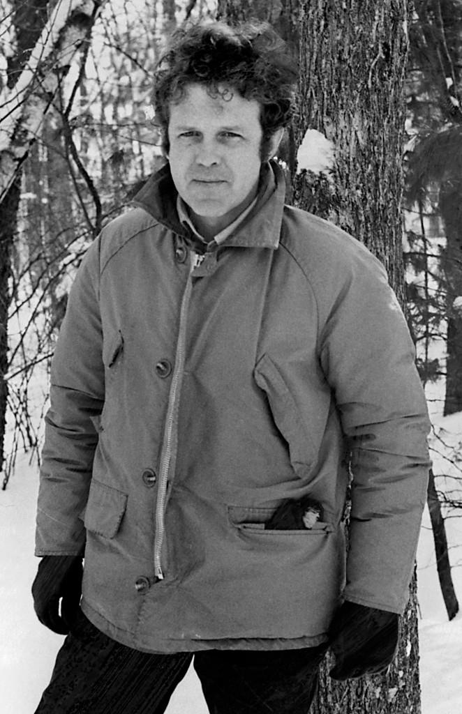 Theodore Weesner in 1972 (crédit Random House)