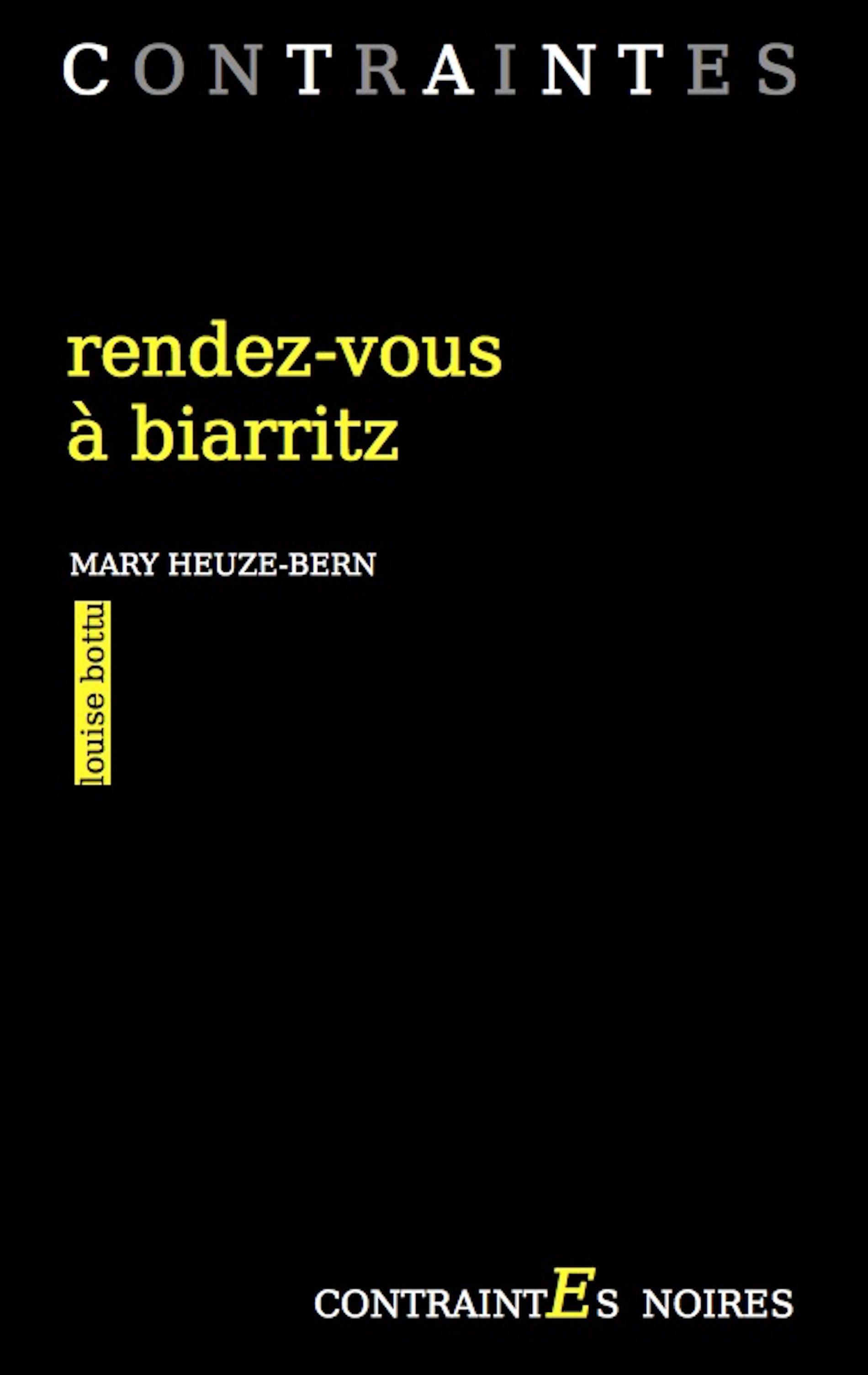 Rendez vous à Biarritz couverture