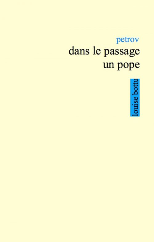 dans le passage un pope couverture
