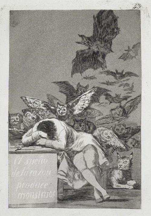 Eau forte - Francisco de Goya