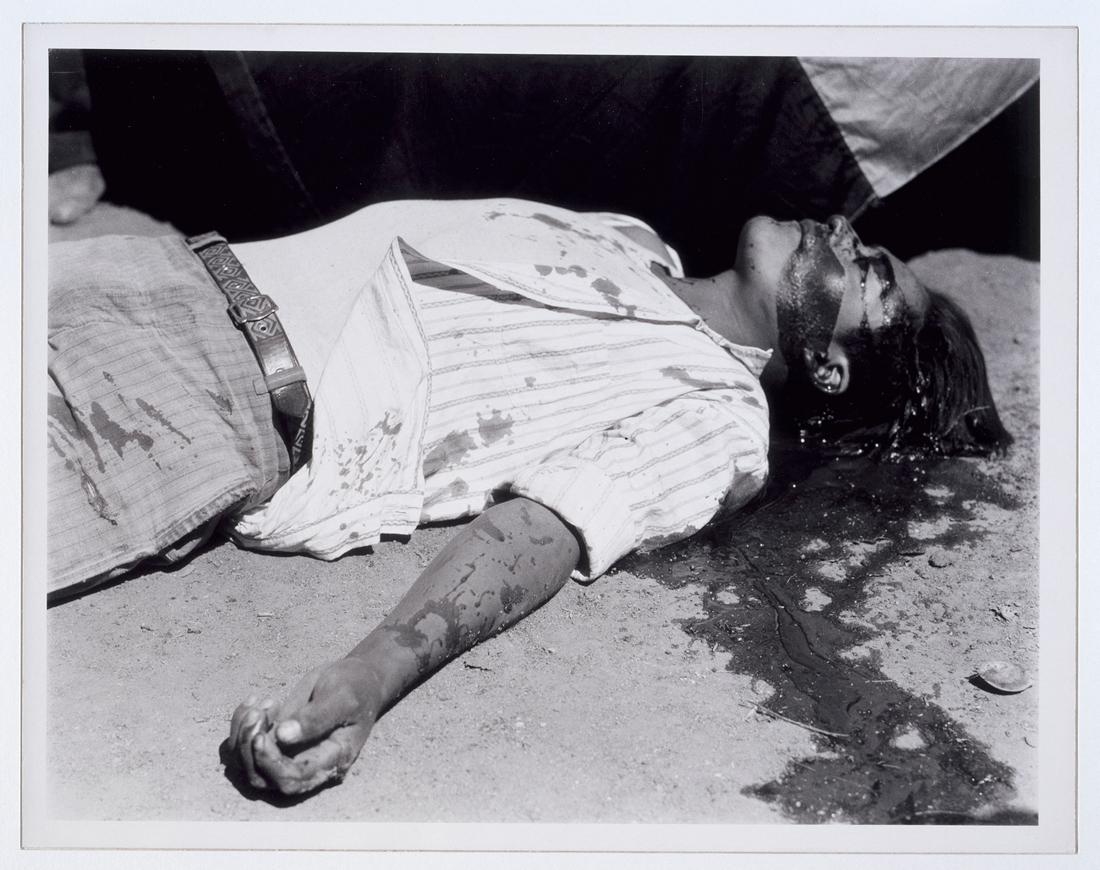 Ouvrier en grève, assassiné, 1934, Manuel ÁLVAREZ BRAVO. © Estate Manuel Álvarez Bravo