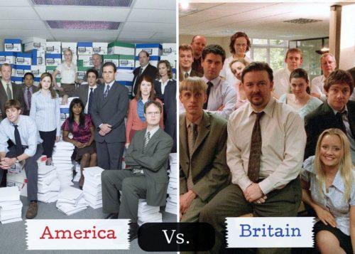 america vs britain