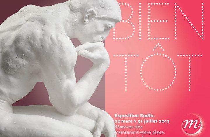 Photo de Rodin, l'exposition du centenaire