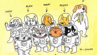 Photo of « Un goûter sur la Lune » : des chiens et des bananes dans l'espace