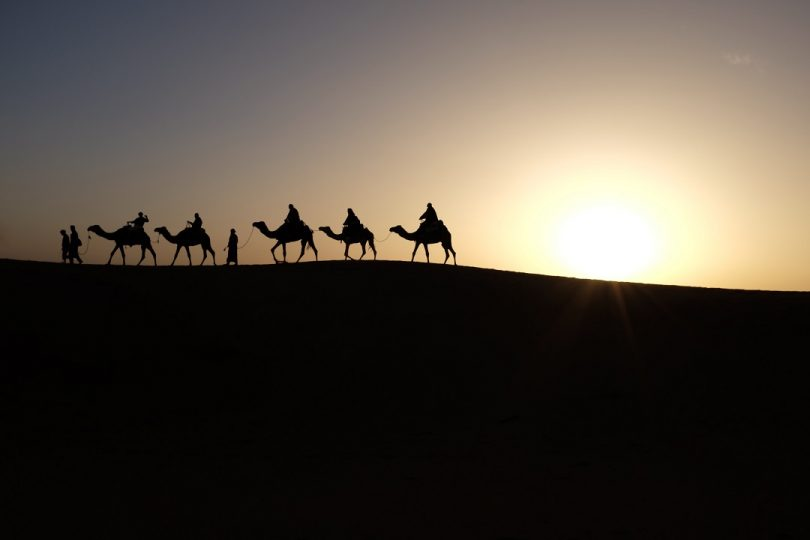Sahara Desert Tour // Inbal Malca // 2015 // Unsplash