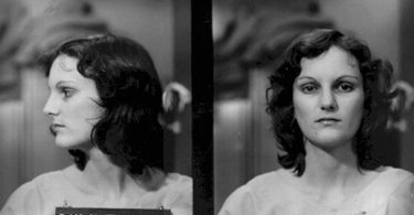 Convicted bank robber, Patty Hearst arrest photo // Public domain