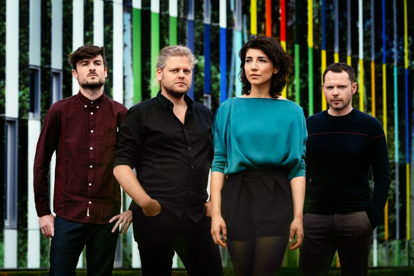 Lara Chedraoui, Brendan, Corbey, Maarten Huygens et Raf De Mey/©Jens Mollenvanger/Unday Records/2017