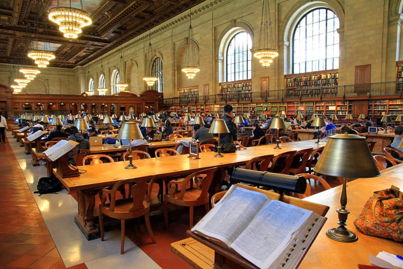 New York Public Library / Ingfbruno / 2013