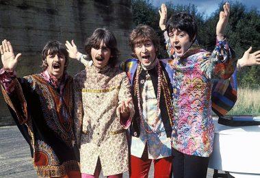 The Beatles / Sgt Pepper et Magical Mystery Tour / Photo de presse / Parlophone Music Sweden