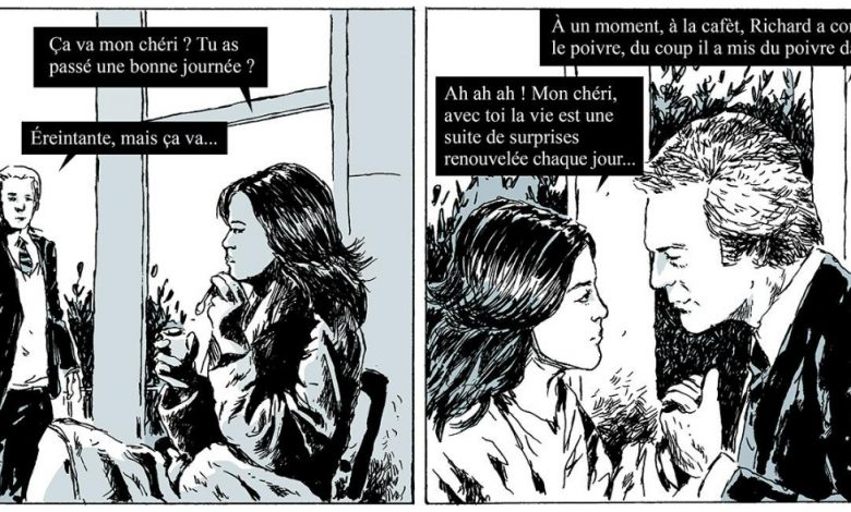 Photo of L'amour selon Fabcaro