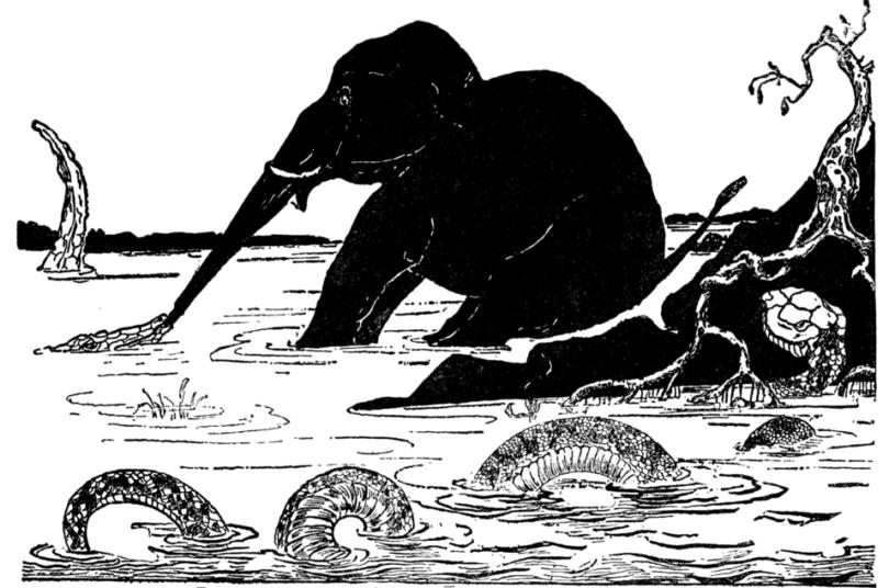 Illustration by Rudyard Kipling