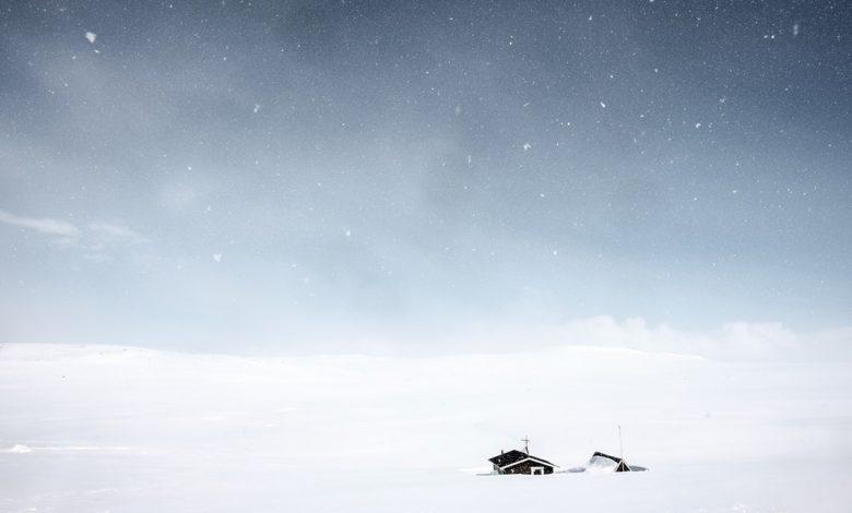 Photo de «Le Poids de la Neige» : des cendres blanches pour horizon