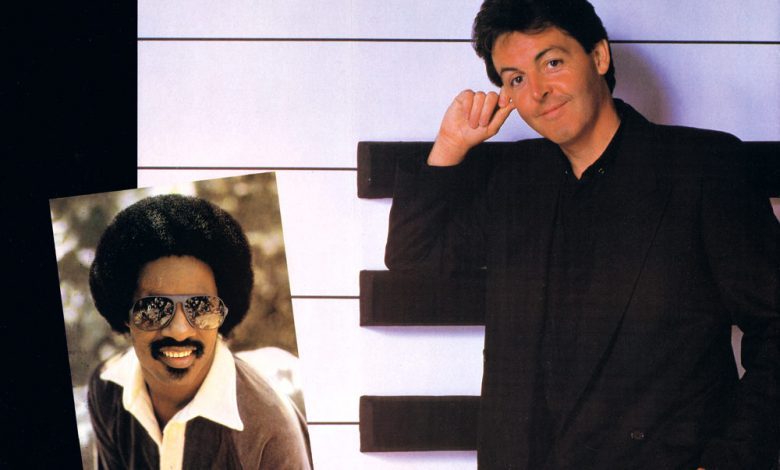 Photo of 29 mars : 1982, sortie du single «Ebony And Ivory» de Paul Mc Cartney et Stevie Wonder