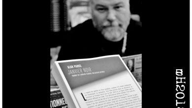 Photo of Alan Parks, Glasgow Noir