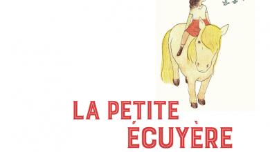 Photo of «La Petite Écuyère» de Charlotte Gingras. Une petite fille et un poney.