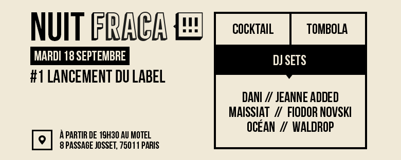 Photo of Acte de naissance d'un label détonnant, le bien nommé : FRACA