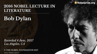 Photo of 13 octobre : 2016, Bob Dylan reçoit le prix Nobel de littérature
