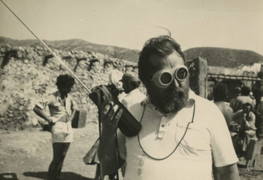 Sergio Leone sur le tournage d'Il était une fois la révolution, 1971 © Fondazione Cineteca di Bologna / Fondo Angelo Novi