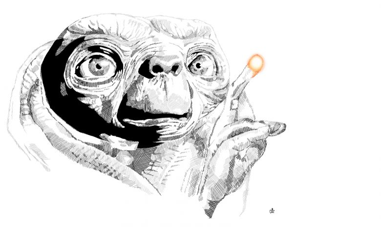 Photo de 1er décembre : 1982, sortie mondiale de «E.T. L'Extra-Terrestre» de Steven Spielberg