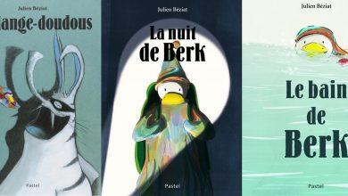 Photo of Berk et ses copains doudous, l'univers de Julien Béziat.