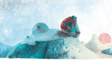 Photo of Tout doux de Gaëtan Dorémus. Une réflexion écologique pour aider un petit ours.
