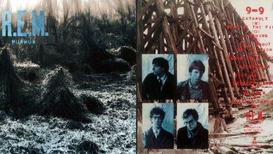 Photo de 12 avril : 1983, sortie de Murmur, premier album de R.E.M.