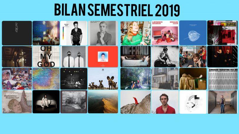 Bilan musical 1er semestre 2019