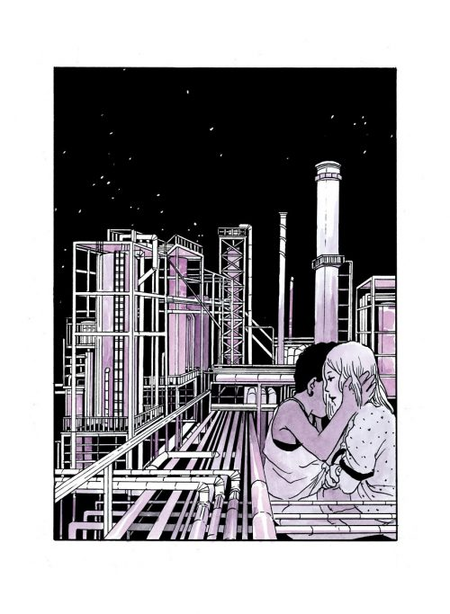 J'adore ce passage / Tillie Walden / Gallimard