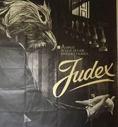Judex, de Georges Franju (détail de l'affiche)