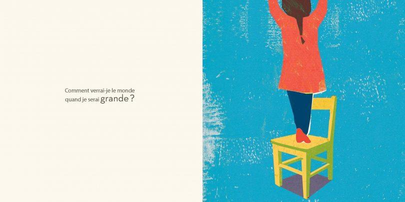 Qu'attends-tu ? Le livre des questions / Britta Teckentrup / Album Michel Jeunesse