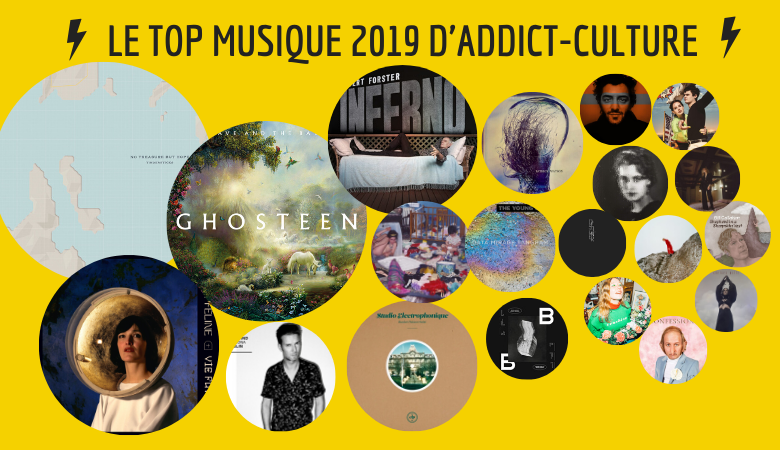 Photo de Le Top Musique 2019 d'Addict-Culture !