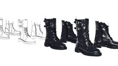 Photo de Boots Dior // Hiver 2020
