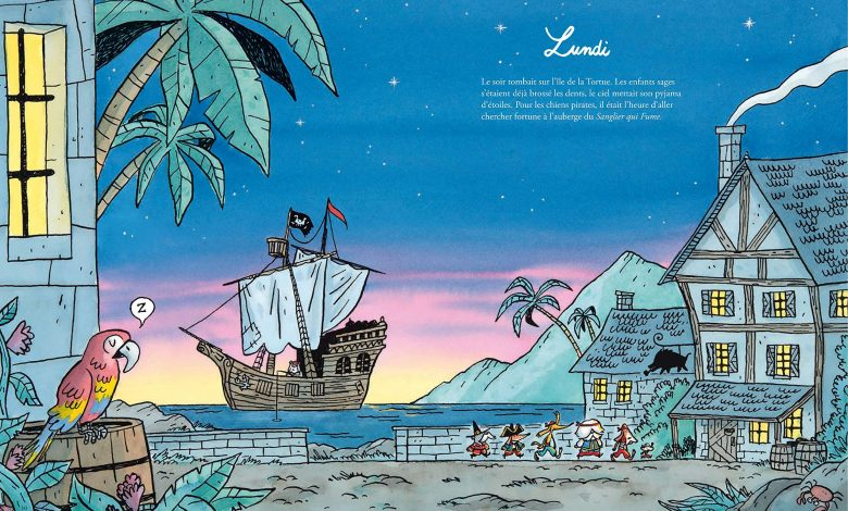 Photo of Les Chiens Pirates, Prisonniers des glaces !de Clémentine Mélois & Rudy Spiessert