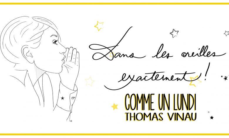 Photo de Thomas Vinau – extraits du recueil « Comme un lundi »
